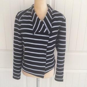 Calvin Klein striped jacket size SP